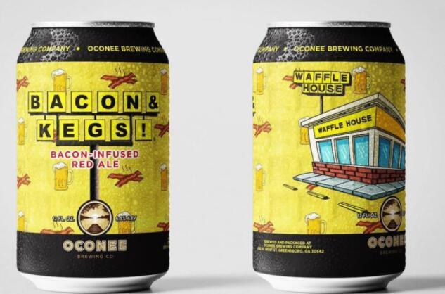 华夫饼屋将发布其第一个官方啤酒它的味道像培根