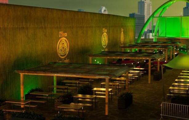巨大的爱尔兰户外啤酒花园在曼彻斯特开业