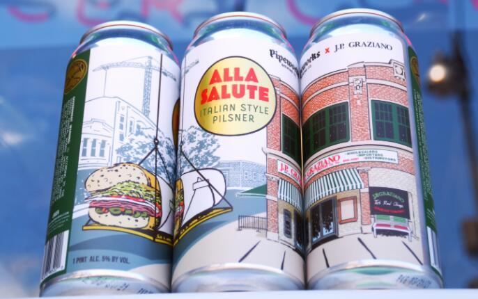 您现在可以选择完美的啤酒 与您的JP Graziano sub配对