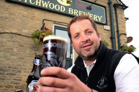酿造霍布哥林啤酒的啤酒厂出售慈善标志