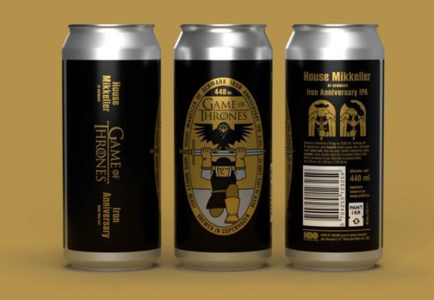 新的官方权力的游戏啤酒即将庆祝该节目成立十周年