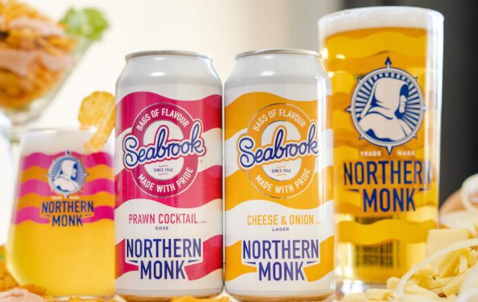 创新的Holbeck啤酒厂的脆皮啤酒