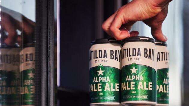 玛蒂尔达湾的阿尔法淡啤酒卷土重来