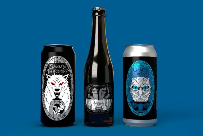 本周将推出三款新的权力的游戏啤酒