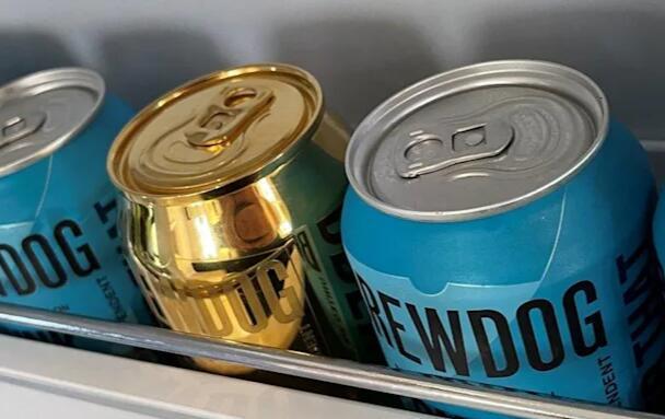 ASA表示Brewdog的纯金啤酒可能会产生误导