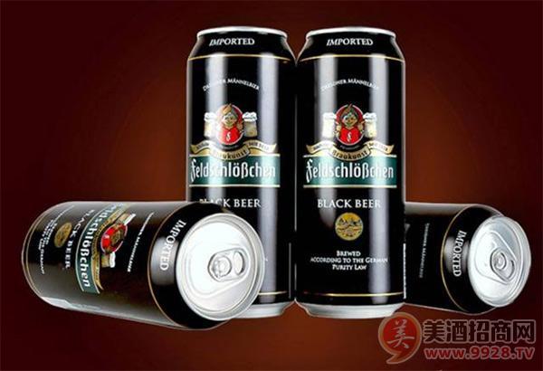今日啤酒:德国进口啤酒品牌:费尔德堡黑啤酒,百年品质,灵魂啤酒!